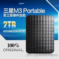 Wholesale 100 ORIGINAL NEW TB M3 Portable External Hard Drive USB3 quot TB hard disk Black