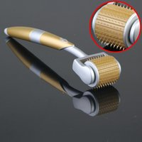 Wholesale NEW Pins Titanium Needles ZGTS Derma Roller Skin roller for Cellulite Anti Aging Age Pores Refine