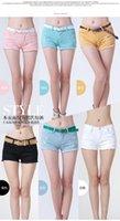 Cheap Wholesale Freeshipping 2016 women white summer denim short Ripped hot Clubwear short pants Beach Jeans shorts Feminina #2002