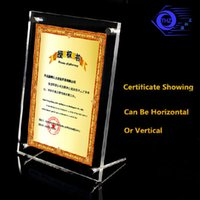 Wholesale 6 inches acrylic plexiglass photo frame european creative Have many different size inventory anc can customize any size