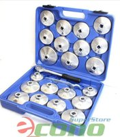 acura oil filter - 23pc Aluminum Alloy Cup Type quot Dr Oil Filter Ring Spanner Cap Wrench Socket Removal Set