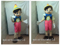 adult pinocchio costume - Professional Pinocchio Mascot Costume Adult Size Fairy Tale Characters Mascotte Outfit Suit Party Fancy Dress