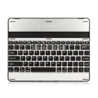 apple wired keyboard aluminum - Aluminum Bluetooth Wireless Keyboard Case Cover for Apple iPad bluetooth wireless keyboard Colour White amp Black