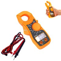 Wholesale LCD Auto Digital Multimeter Electronic Voltage Tester AC DC Clamp Meter B00335 SMAD