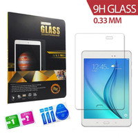 Wholesale Tempered Glass H mm HD Clear Screen protector for Samsung Galaxy Tab A T550 T350 Tab T230 T330 Tab Pro P900 retail package