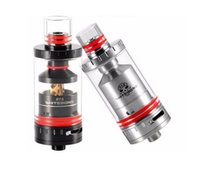 authentic caps - 100 Authentic White Bone RTA Atomizer ml rebulidable Top filled Tank clear glass inner cap tank VS GeekVape RTA tank Subtank Plus