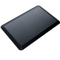 anti fatigue kitchen mat - Black Modern Indoor Cushion Kitchen Rug Anti Fatigue Floor Mat