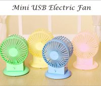 electric fan motor - 4pcs USB Electric Fan Mute Radiator Fan Portbale colorful Fan Dual Motor Blower baby infant cooling desk fan