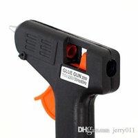 Wholesale Hot Sales W Electric Heating Hot Melt Glue Gun Sticks Trigger Art Craft Repair Tool