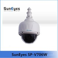 auto focusing camera - SunEyes SP V706W Wireless PTZ Dome IP Camera Outdoor mm Optical Zoom Auto Focus with Free G Micro SD Card Built in