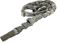 acu point - actical One Single Point Sling Adjustable Bungee Rifle Gun Sling Strap for Airsoft Hunting ACU