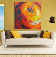 apple wall art - Hand painted canvas oil paintings apple picture modern oil painting wall Art for home living room decoration oil painting