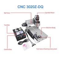 auto screwing machine - cnc Z DQ router with ball screw and tool auto checking instrument upgraded from CNC engraving machine