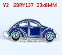 badges car vintage - Vintage Classics Fashion Lapel Pins Retro Cartoon metal badge car X0 CM Personality Brooch