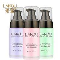 Wholesale Levin Kou multi purpose Care Cream g red Green Purple waterproof anti sweat Concealer radiation light rendering