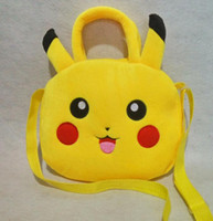 baby go bag - Poke Go Plush Backpack Cute Pocket Monster Stuffed Toys Gift For Baby Kids Pikachu Figure Plush Handbag Children School Bag
