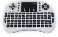 Wholesale Mini Wireless Keyboard GHz English Air Mouse Keyboard Remote Control Touchpad For Android TV Box Notebook Tablet Pc