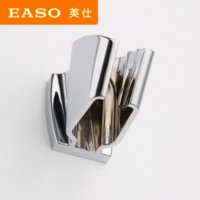 bathroom faucet installation - shower head base EASO high quality chrome bathroom faucet accessories easy installation three stop adjustable shower head holder