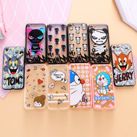 apples tom - For iphone case Cartoon Tom Jerry Jingle cats Transparent TPU For iphone S Plus Cell Phone Cases Fashion Capa Fundas Coque