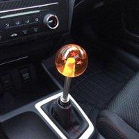 Wholesale New arrived Dragon ball Z rare custom mm gear shift knob star Acrylic M10x1 for universal car