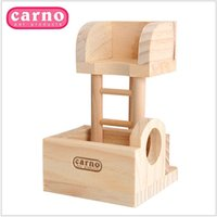 Wholesale Hamster Lookout Tower for Hamster Make in Wood with Floors