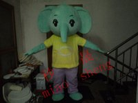 Wholesale The latest tide elephant mascot costume customizable cartoon elephant theme cartoon cosply carnival costume costumes