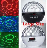 active speakers white - Bluetooth Wireless Rechargeable Portable LED Magic Ball Speaker MP3 White Black