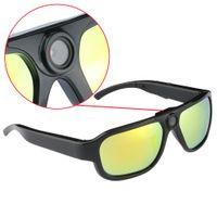 Acheter Lunettes de soleil enregistrer de la vidéo-caméra Big len Sunglasses caméra Full HD 1080P Sport auto-shoot numérique colorfull enregistreur vidéo 5.MP COMS PC webcam enregistrement long