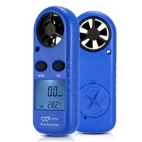 air velocity measurement - Multifunctional LCD Mini Anemometer Wind Speed Air Velocity Temperature Measurement Beaufort Scale Display E1433