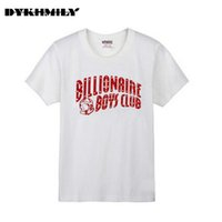 Wholesale Hot selling Plus Size Men Short sleeved Men s T shirt Printed Billionaire Boys Club bbc O Neck Cotton Fashion Sport T shirt