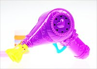 baby bubble bath - 2015 kids double pipe bubble gun bath toy soap bubble blower child toy baby gift water gun