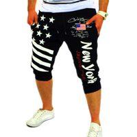 beaches new york - New Arrival Beach Shorts Men Summer Sport NEW YORK Print Mens Shorts Casual Short Men Fitness Harem Jogging Shorts Hommes