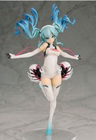 Wholesale Sexy Race Girls - Hatsune Miku Racing model characters action figure sexy and popular video girl Miku Hatsune toys for kids gift