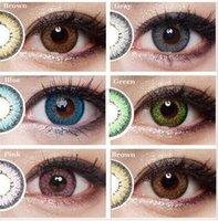 big christmas - 2016 New Gunuo Series colored contact lenses for eyes yearly use mm big eyes crazy lenses halloween Freeshipping