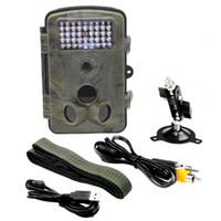 RD1000 1080P HD 12MP Caméra de plongée Rain-proof Caméra de chasse de la faune sauvage portable Caméra de chasse de scoutisme Trail Camera Sécurité IR LED Night
