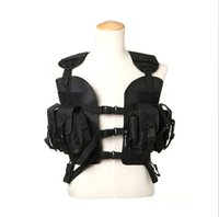 Wholesale Green Deluxe Airsoft Tactical Vest Hunting Military Combat Mesh Vest Outdoor Fishing Vest