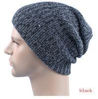 amazon sun hats - 2016 Amazon hot seller plain color two tone unisex women men slouch skull hats winter warm men beanies flexible