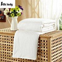 Wholesale Summer x210cm kg Mulberry Silk Quilt Silk Duvet Quilt Comforter Quilt Handmade