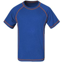 Wholesale Summer Hiking breathable t shirt Men Quick Dry Coolmax Homme Camping Fitness Fishing Running T shirt