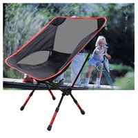 Wholesale NEW Lightweight Folding Chair Heavy Duty Aluminum Alloy Stool Seat For Camping Hiking Fishing Garden BBQ with Carry Bag