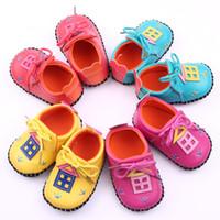 baby house shoes - 2016 Baby Shoes Girls Spring Moccasin PU First Walker Shoes Boys Infant House Prewalker Toddler Soft Antiskid Shoe Children Footwear