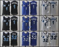 Wholesale A High Quality new arrival Orlando Anfernee Hardaway Tracy McGrady Shaquille ONeal jersey for mens