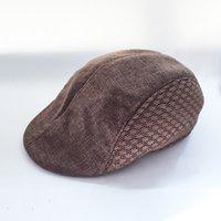 Wholesale Color New Unisex Beret Hats Women Men Flat Caps Casual Breathable Mesh Polyester Cap L3