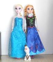 baby cloth diy - 2016 special offer Frozen Anna Elsa olaf Toys Princess Dolls Action Figures Inch Elsa Anna Nice Christmas Gift For Kids Girls