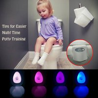 toilet bowl - Amazon Hot Sale Motion Sensor Toilet Bowl Sensor Night Light Make your life smart
