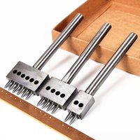 Wholesale Leather Craft Tool Diamond Punch Wheel Sets Punching Tool Punching mm Pitch Hole Prongs