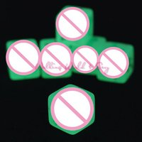 adults humor - 6 Sides Glow In The Dark Erotic Dice Noctilucent Sex Dice of Adult Game Love Humor Gambling Dice Flirting Sex Toys For Couples