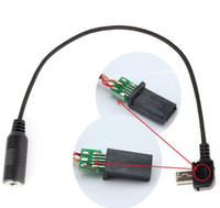 Wholesale High Quality USB to mm Microphone Adapter Cable Cord with Chip for Gopro Hero Camera camcorder