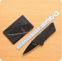 Cheap Card Knife Folding Knife Credit Card Tool Mini Wallet Camping Outdoor Pocket Tools Tactical Knife