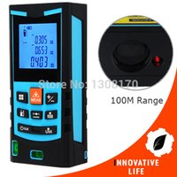 area units - M Range Finder Digital Laser Meter Measure Area Volume Pythagoras Tool Feet Inches Units with Bubble Level mm Accuracy